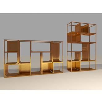 Ferruccio Laviani Copper View Shelf