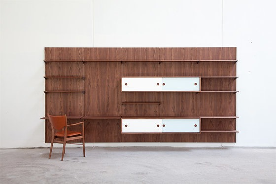 Finn Juhl Fj Panel System Storage And Shelving
