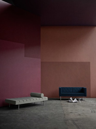 Busk + Hertzog Harlequin Seating Collection
