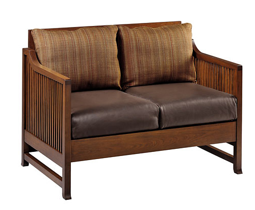 Frank Lloyd Wright Oak Park Love Seat