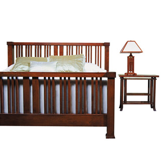 Frank Lloyd Wright Ingalls Bed