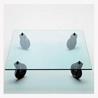Gae aulenti tavolo con ruote table - Tavolo con ruote gae aulenti ...