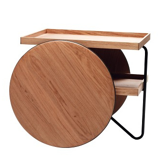 GamFratesi Chariot Mobile Table