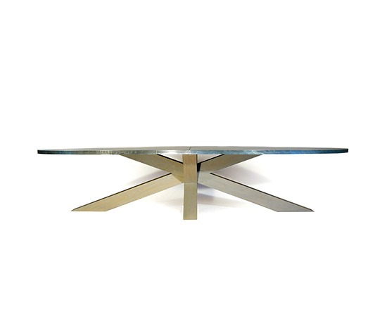 Gerard Der Kinderen Crosstable 4-Beam Zinc Table