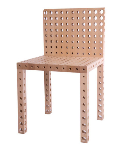 Gijs Bakker Chair With Holes