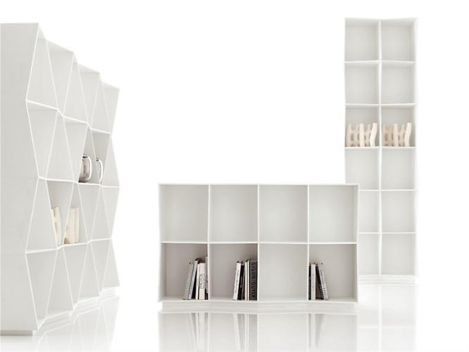 Giuseppe Bavuso Wavy Bookshelf