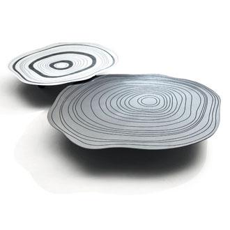 Giuseppe Viganò Silver Ring Table