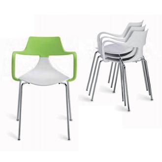Green Iron Shark Chair