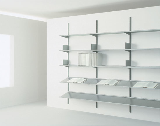 Hannes Wettstein Continua Bookcase System