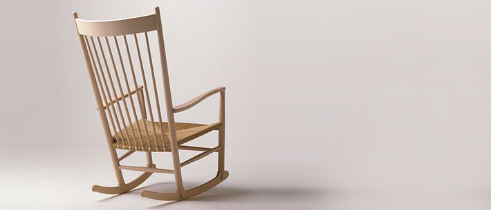 Hans J. Wegner J16 Rocking Chair