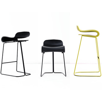 Harry and Camila BCN Stool Outdoor