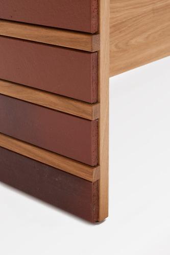 Hierve Brick Sideboard