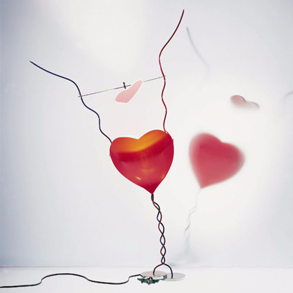 Ingo Maurer One From The Heart Lamp