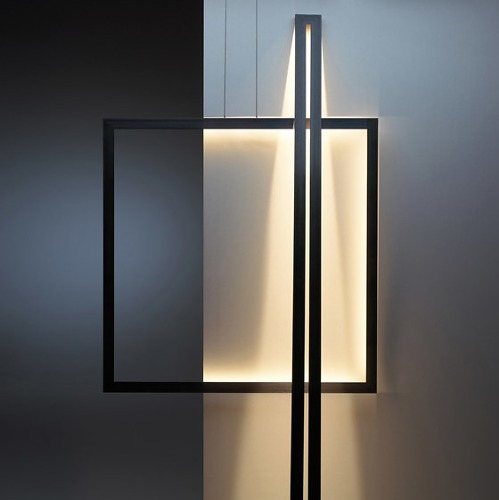 Jacco Maris and Ben Quaedvlieg Framed Lamp Collection