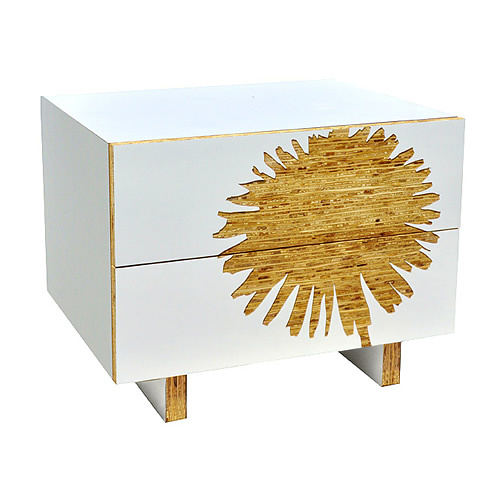 James Sanderson and Michael Iannone Graphic Nightstand