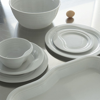 Jean-Francois Dingjian and Eloi Chafai Paysages Dinerware