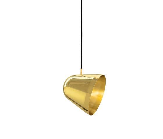 Jjoo Design Tilt S Brass Pendant Lamp