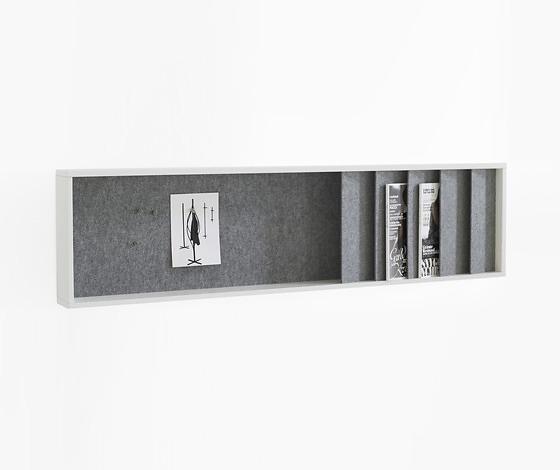 Joel Karlsson Krook & Tjäder Design Ridå Magazine Rack