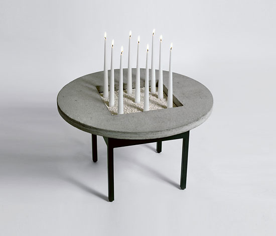 Jonas Bohlin Concrete Jungle Table