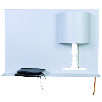 Kattentidt+scheib & Product Found Kate M Shelf and Lamp