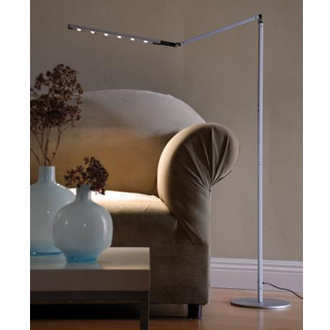 Floor Lamps on Koncept Lighting I Tower High Power Led Floor Lamp