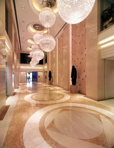 Kalmar Shangri La Hotel Suzhou Chandelier