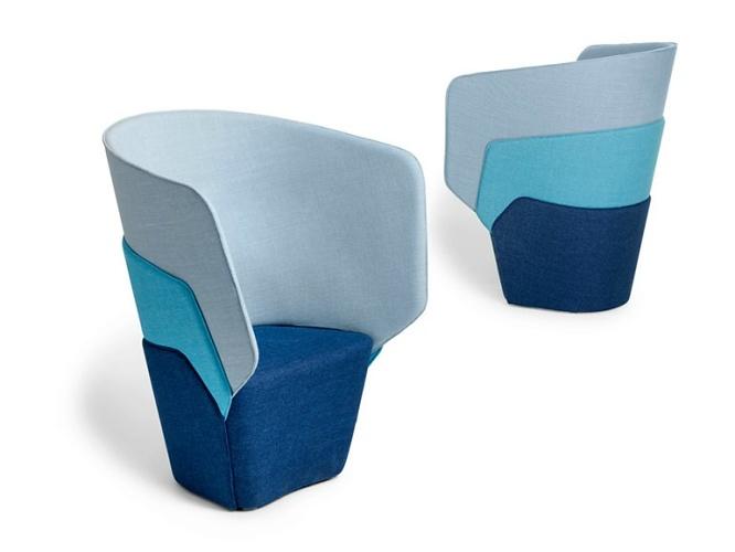 LÄUFER + KEICHEL Layer Easy Chair