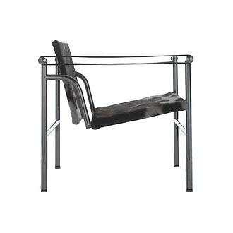 le corbusier pierre jeanneret and charlotte perriand lc1 armchair. Black Bedroom Furniture Sets. Home Design Ideas