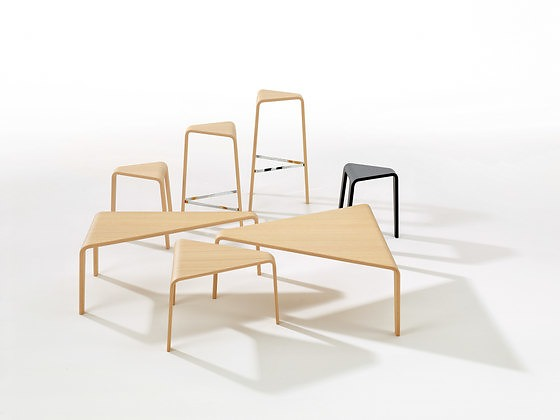 Lievore Altherr Molina Ply Table Set