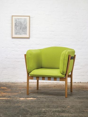 Lime Studio Dowel Armchair