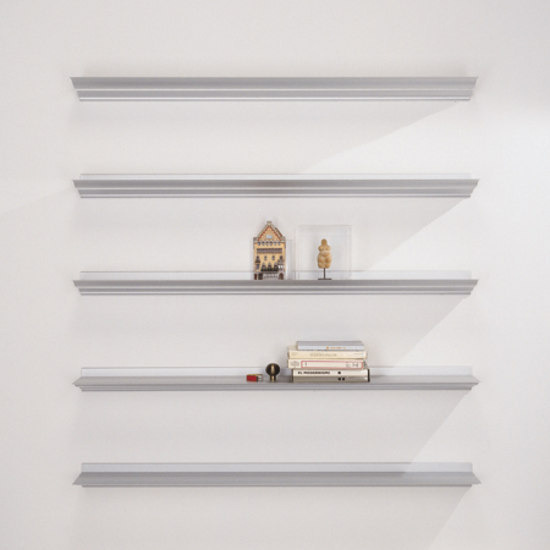 Lluis Clotet and Oscar Tusquets Blanca Cornisa Shelf