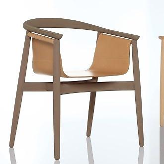 Lorenz and Kaz Pelle Chair