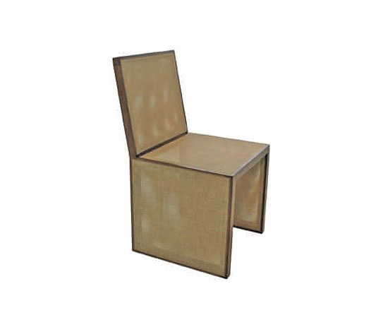 Luciana Martins and Gersons de Oliveira Box Chair