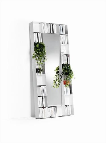 Marcello Ziliani Bel.vedere Mirror Bookshelf