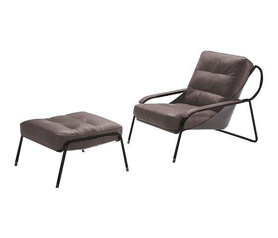 Marco Zanuso Maggiolina 900 Armchair With Footstool