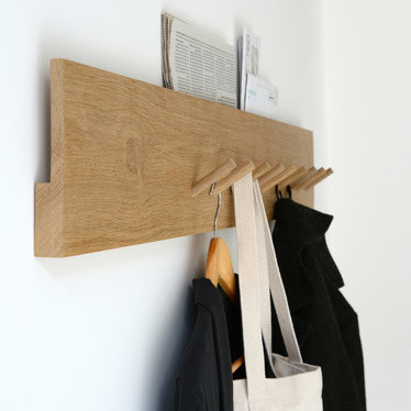 Marina Bautier Coat Rack And Mail Holder