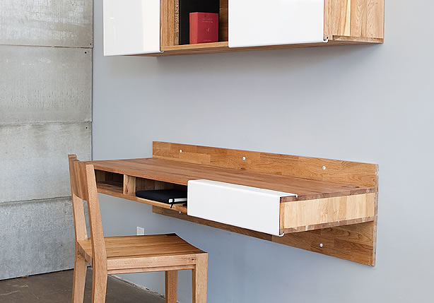 MASHstudios Wall-mounted Desk