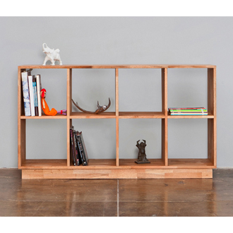 Free Standing Shelving Contemporary Collection