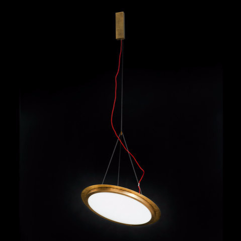 Massimo Castagna Light Disc Lamp