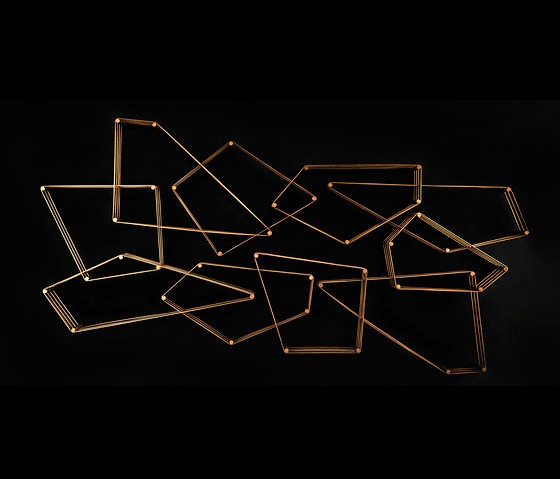 Massimo Castagna Tangram Wall Shelves