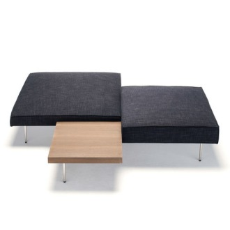 Massimo Mariani Upland Pouf And Table