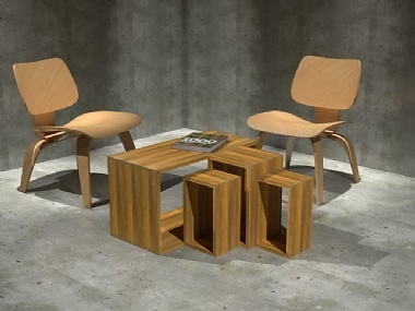 Mater Box System - Lounge Table