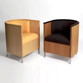 Mats Theselius Theselius Wood Armchair