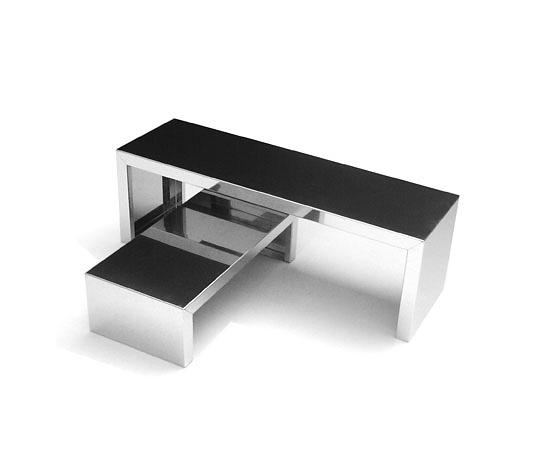 Maurizio Peregalli Small Inox Table