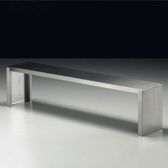 Maurizio Peregalli Stainless Bench