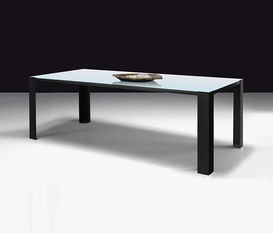 Maurizio Peregalli White Glass Big Irony Table