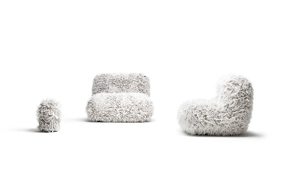 Maurizio Galante and Tal Lancman Chummy Frizzy Seats Collection