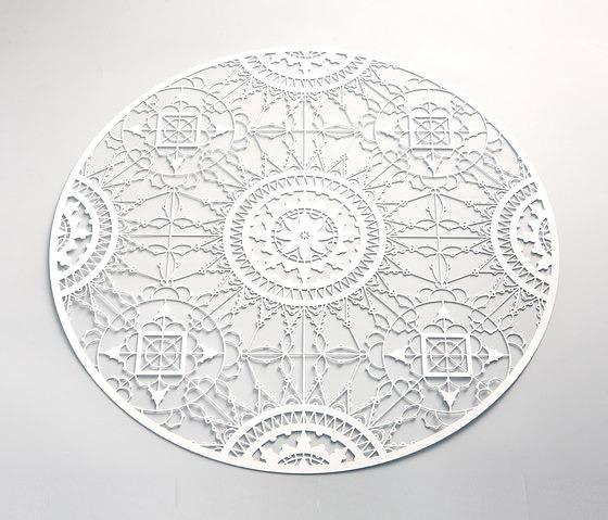 Maurizio Galante and Tal Lancman Italic Lace Coasters