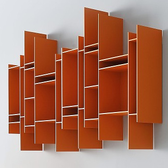 Michael Geldmacher and Eva Paster Randomito Bookcase