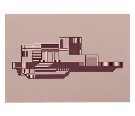 Mogens Lassen Kristina Dam House Graphics Wall Decoration